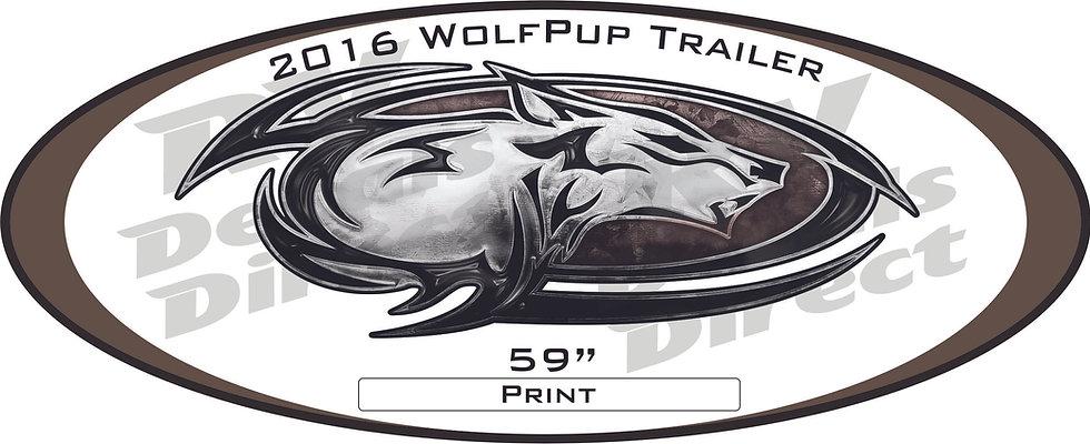 2016 Wolf Pup Trailer (B)