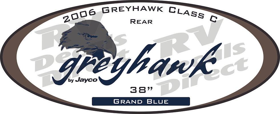 2006 Greyhawk Class C Trailer