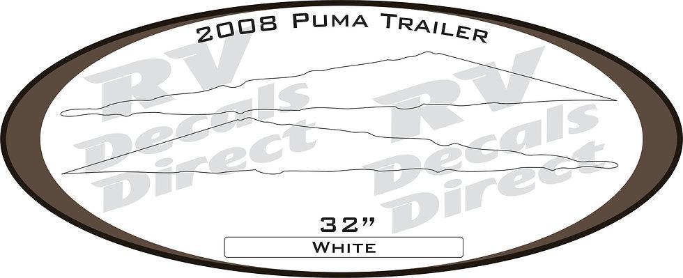 2008 Puma Travel Trailer
