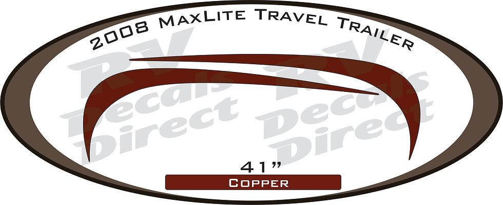 2008 MaxLite Travel Trailer