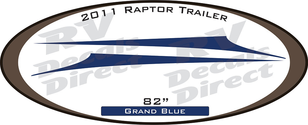 2011 Raptor Travel Trailer