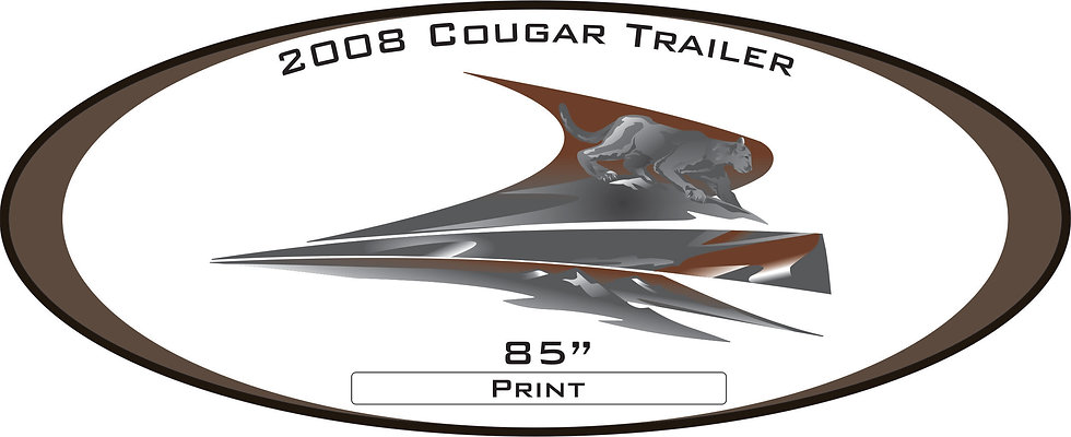 2008 Cougar Travel Trailer