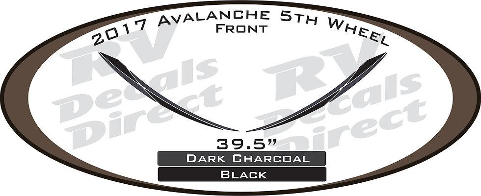 2017 Avalanche 5th Wheel