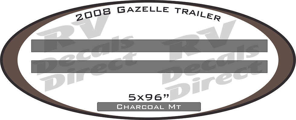 2008 Gazelle Travel Trailer
