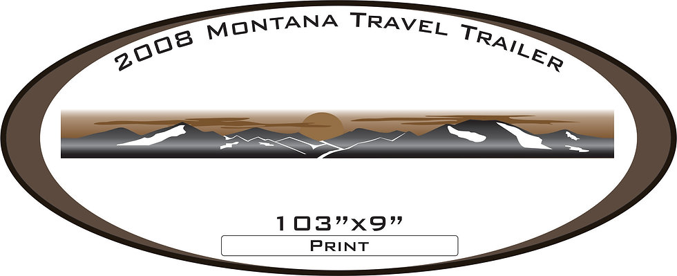 2008 Montana travel trailer