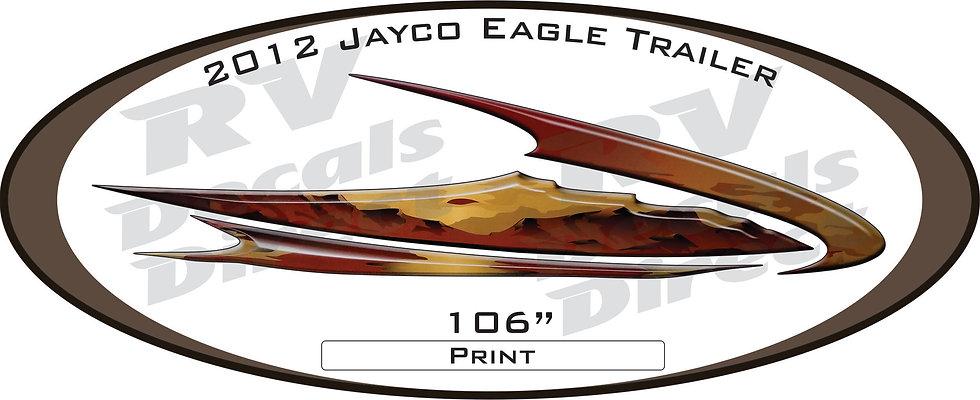 2012 Jayco Eagle Travel Trailer