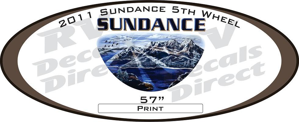 2011 Sundance 5th Wheel