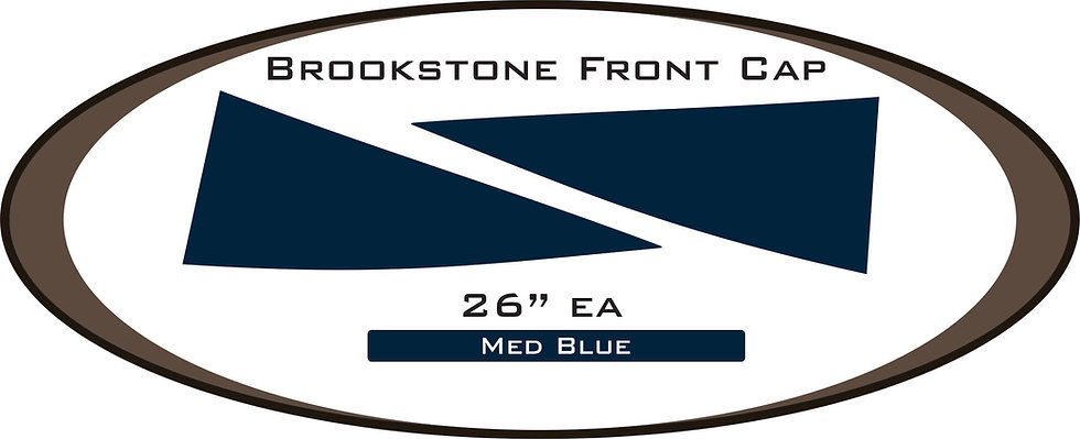 Brookstone Front Cap Decal