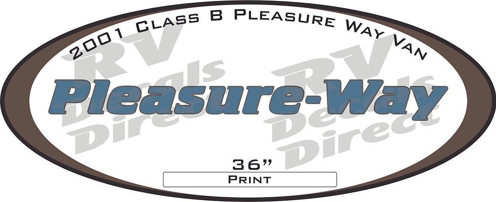 2001 Pleasure Way Class B