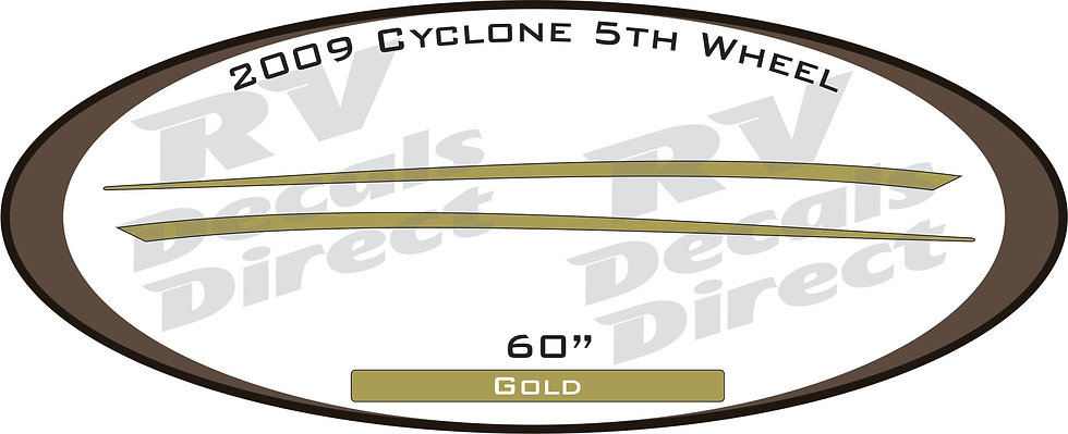 2009 Cyclone 5th Wheel