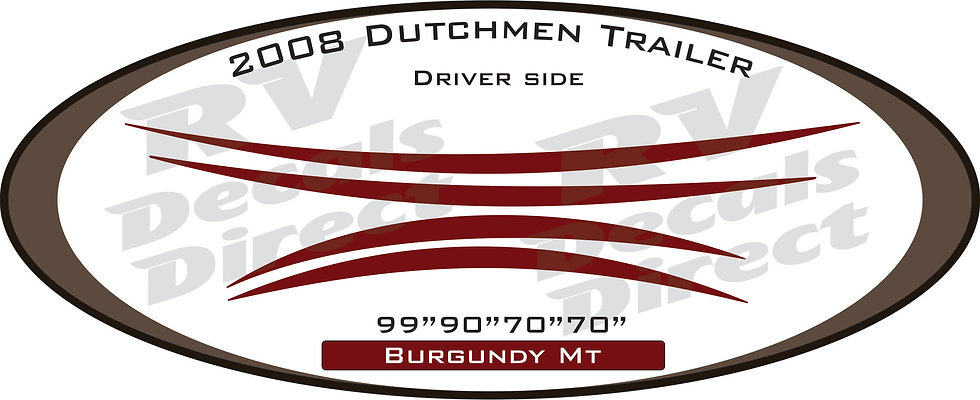 2008 Dutchmen Travel Trailer