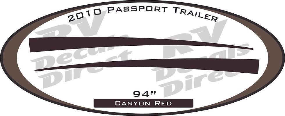2010 Passport Travel Trailer