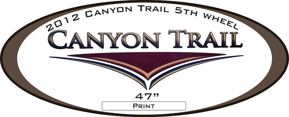 2012 Canyon Trail 5th Wheel