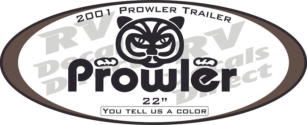 2001 Prowler Travel Trailer