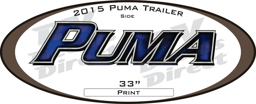 2015 Puma Travel Trailer