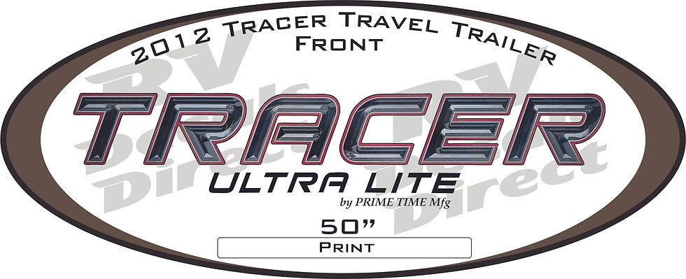 2012 Tracer Travel Trailer