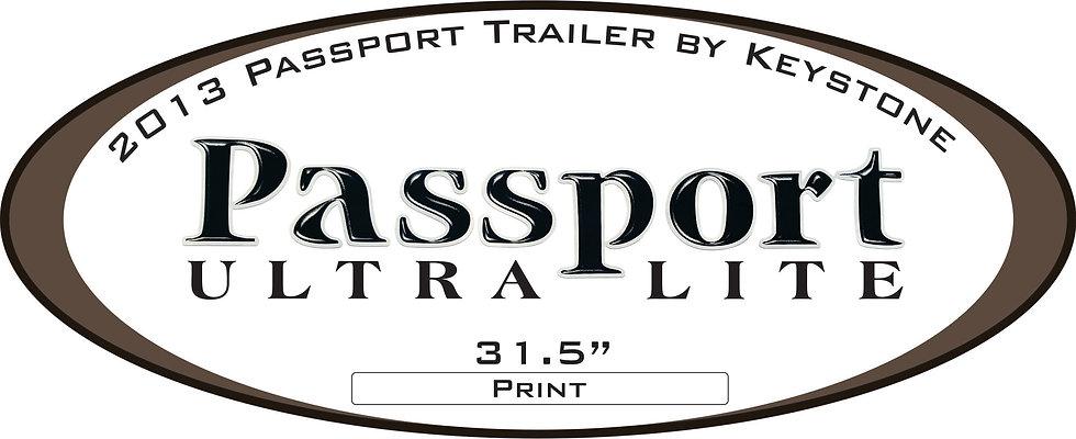 2013 Passport (Ultra Lite) Trailer