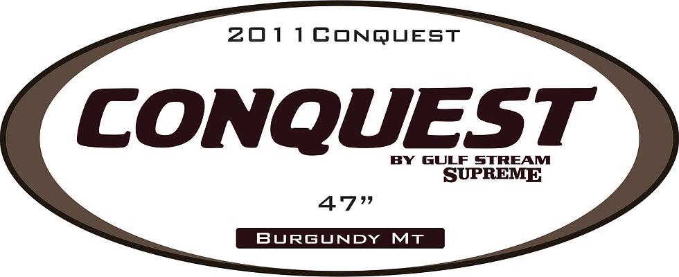 2011 Conquest Travel Trailer