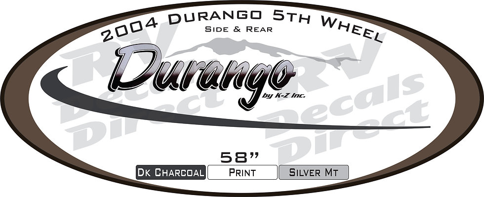 2005 Durango 5th Wheel