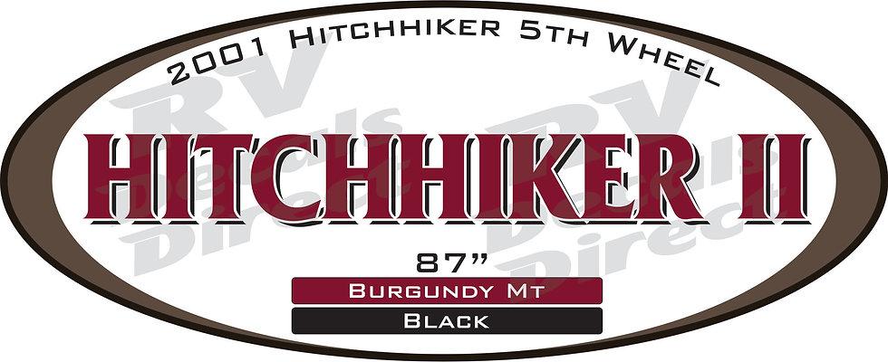 2001 Hitchhiker II 5th Wheel