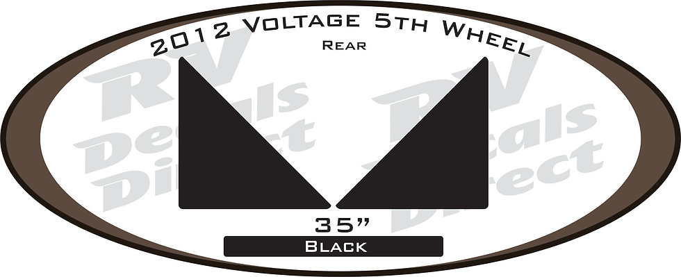 2012 Voltage 5th Wheel
