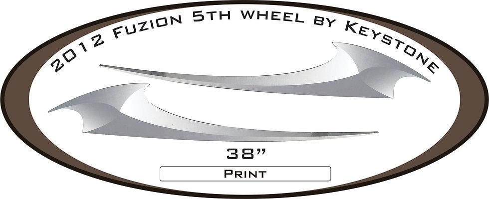 2012 Fuzion 5th wheel