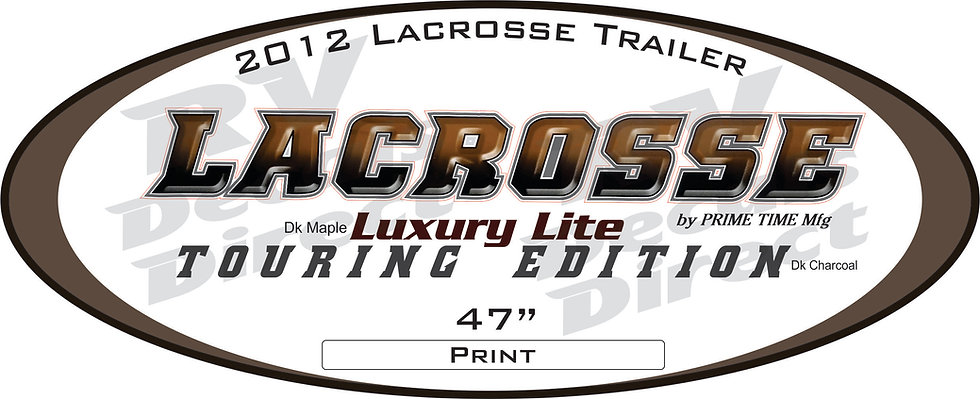 2012 Lacrosse Travel Trailer
