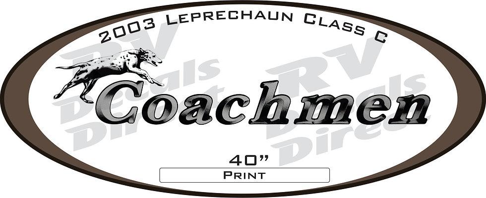 2003 Leprechaun Class C