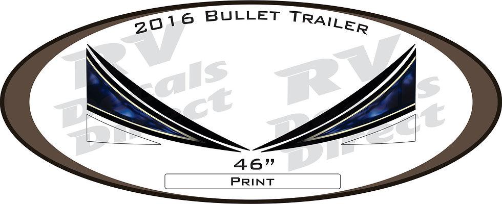 2016 Bullet Travel Trailer