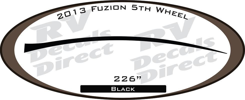 2013 Fuzion 5th Wheel