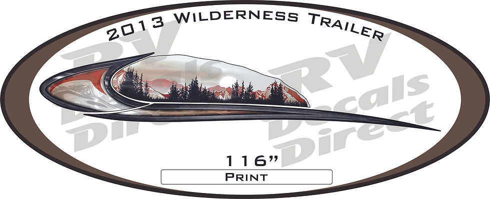 2013 Wilderness Travel Trailer