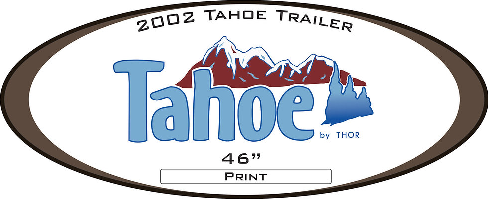 2002 Tahoe Travel Trailer