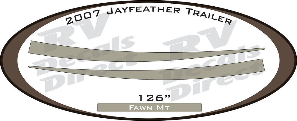 2007 JayFeather Travel Trailer