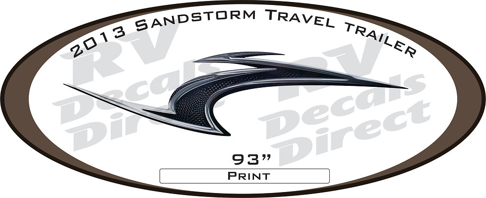 2013 SandStorm Travel Trailer