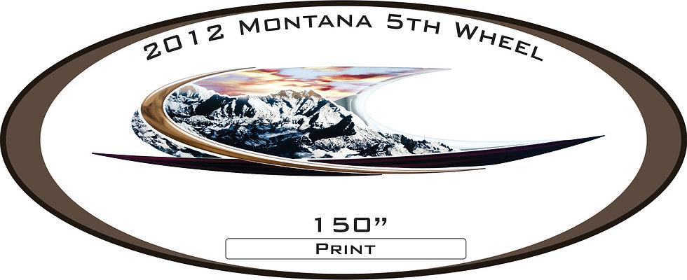 2012 Montana 5th Wheel
