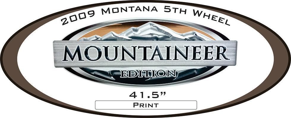 2009 Montana Mountaineer Edition 5th wheel