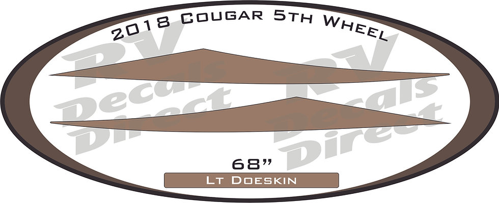 2018 Cougar 5th Wheel