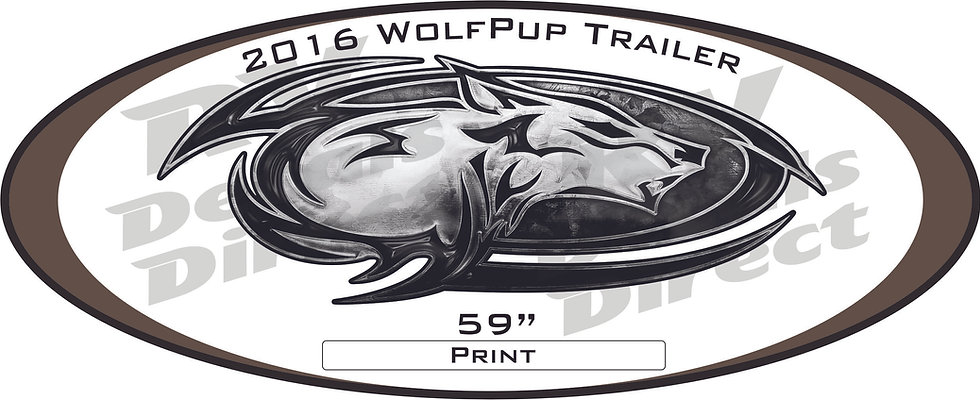 2016 Wolf Pup Trailer