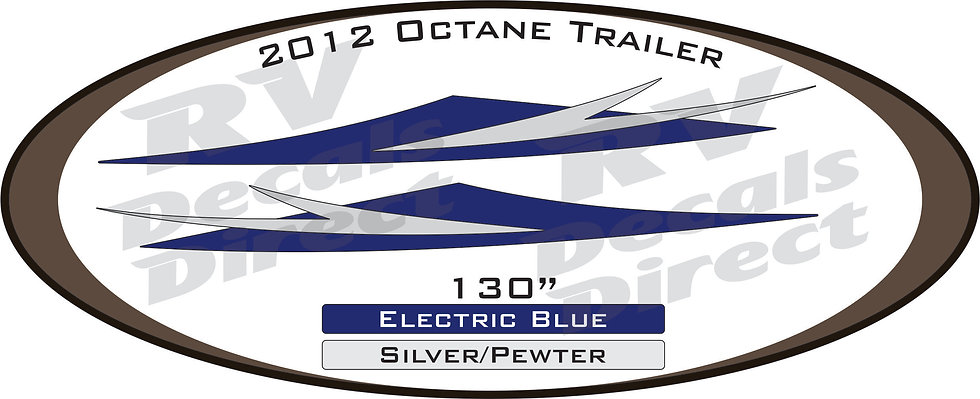 2012 Octane Travel Trailer