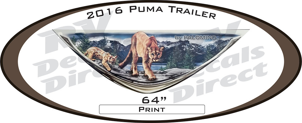 2016 Puma Travel Trailer
