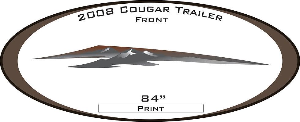 2008 Cougar Travel Trailer