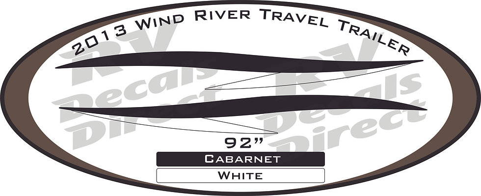 2013 Wind River Travel Trailer