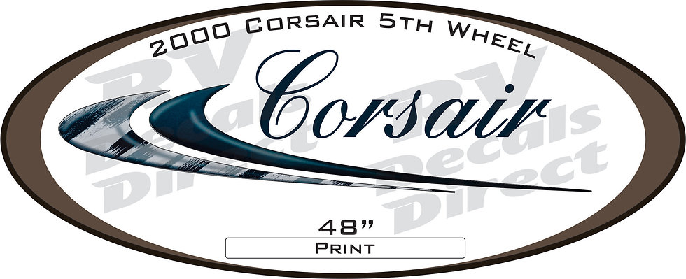 2000 Corsair 5th Wheel
