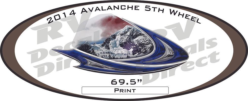 2014 Avalanche 5th Wheel