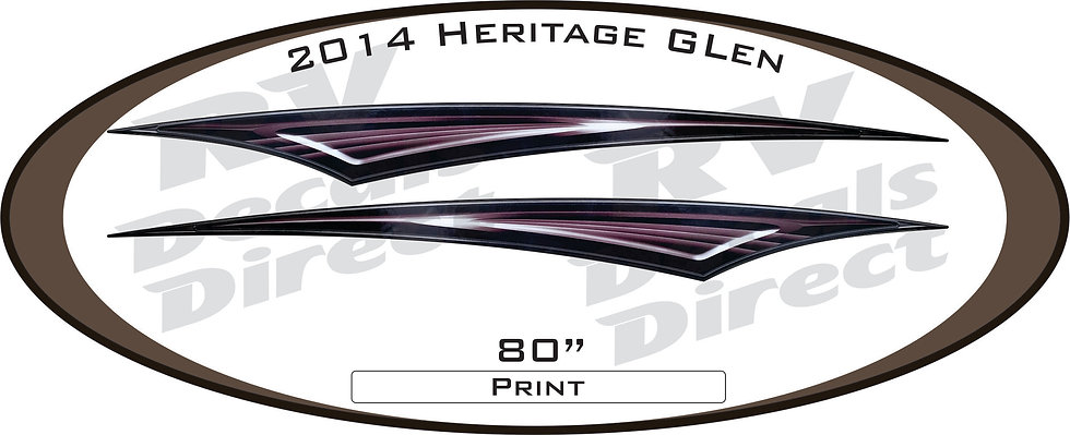 2014 Heritage Glen Travel Trailer