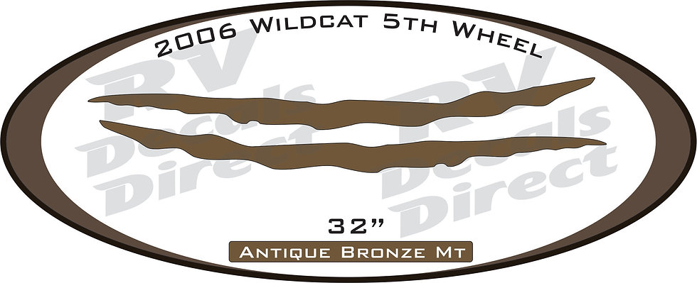 2006 Wildcat 5th Wheel