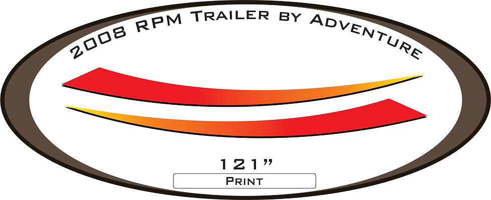 2008 RPM Travel Trailer