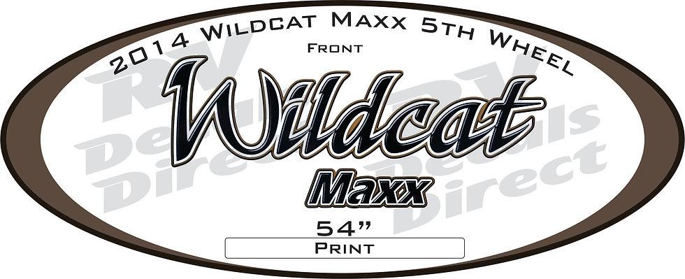 2014 Wildcat Maxx 5th Wheel