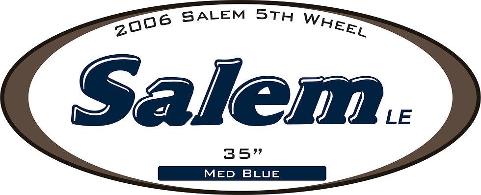2006 Salem 5th Wheel
