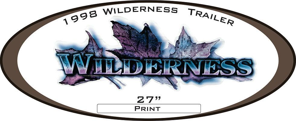 1998 Wilderness Travel Trailer
